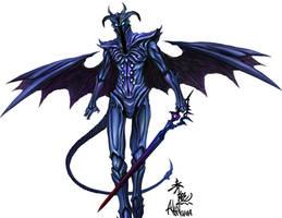 demon swordsman by akakuma