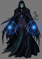 necromancer by akakuma