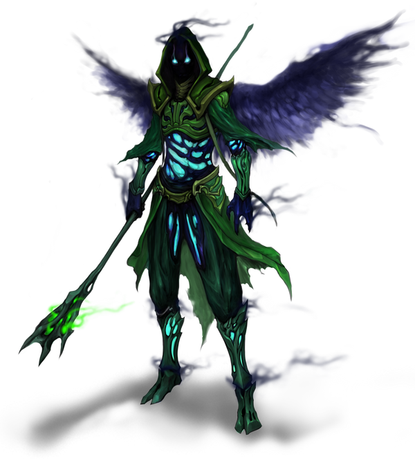 Male Wraith by akakuma