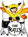 Ringo Starr as pikachu?