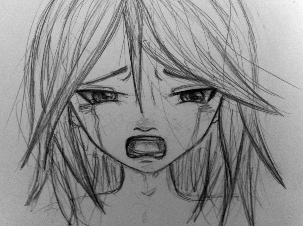 Manga Girl who have Broken heart by ShiroDance