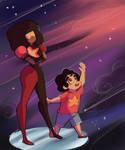 Garnet and Mini Steven