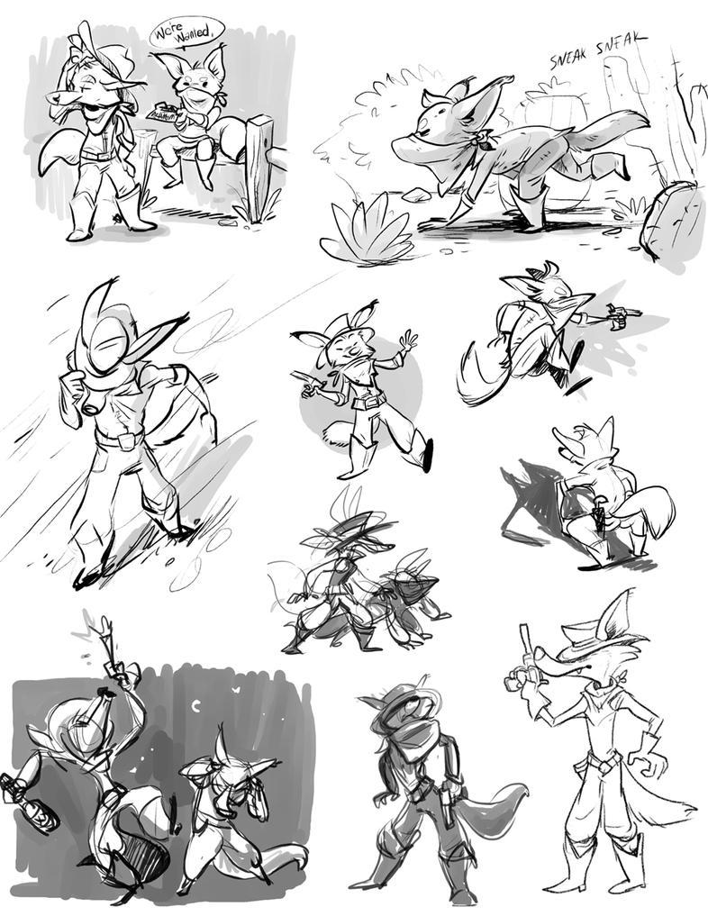 Yotebrudders Sketchpage by Colonels-Corner