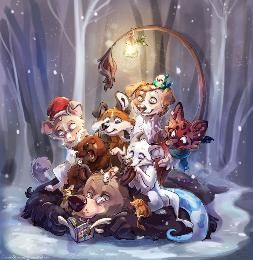 Winter Storytime by Colonels-Corner
