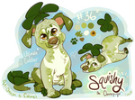 Cloverpup: Squishy (SOLD)