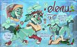 Elenu- Holiday Cloverpup (CLOSED)