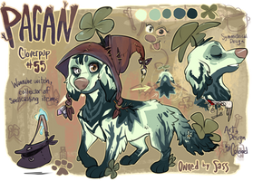 Pagan the Cloverpup by Colonels-Corner