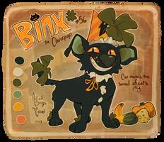 Fall Cloverpup | Binx