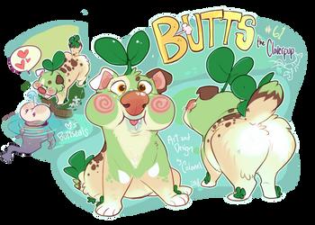 Butts the Cloverpup