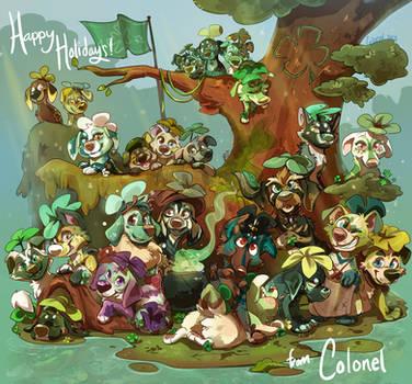 Cloverpup Christmas!