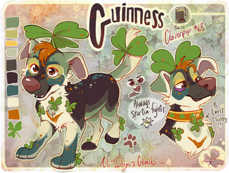 Guinness- Cloverpup (SOLD) by Colonels-Corner