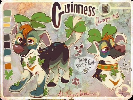 Guinness- Cloverpup (SOLD)