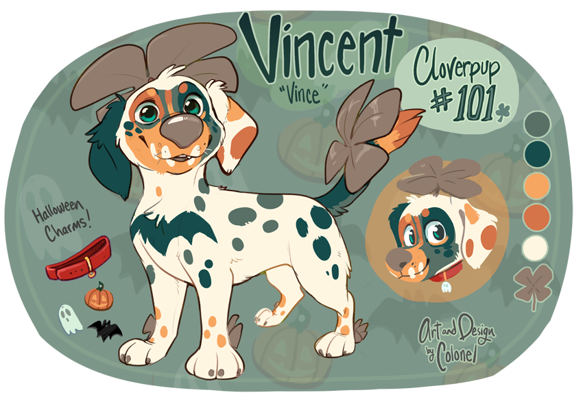 Vincent the Cloverpup