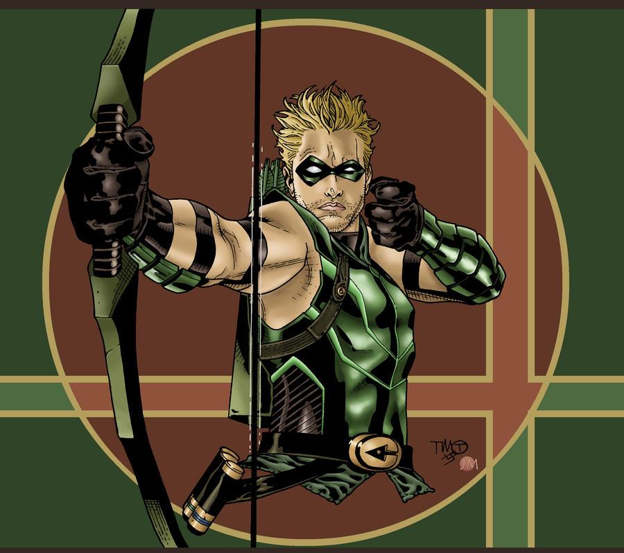 نتیجه تصویری برای green arrow deviantart