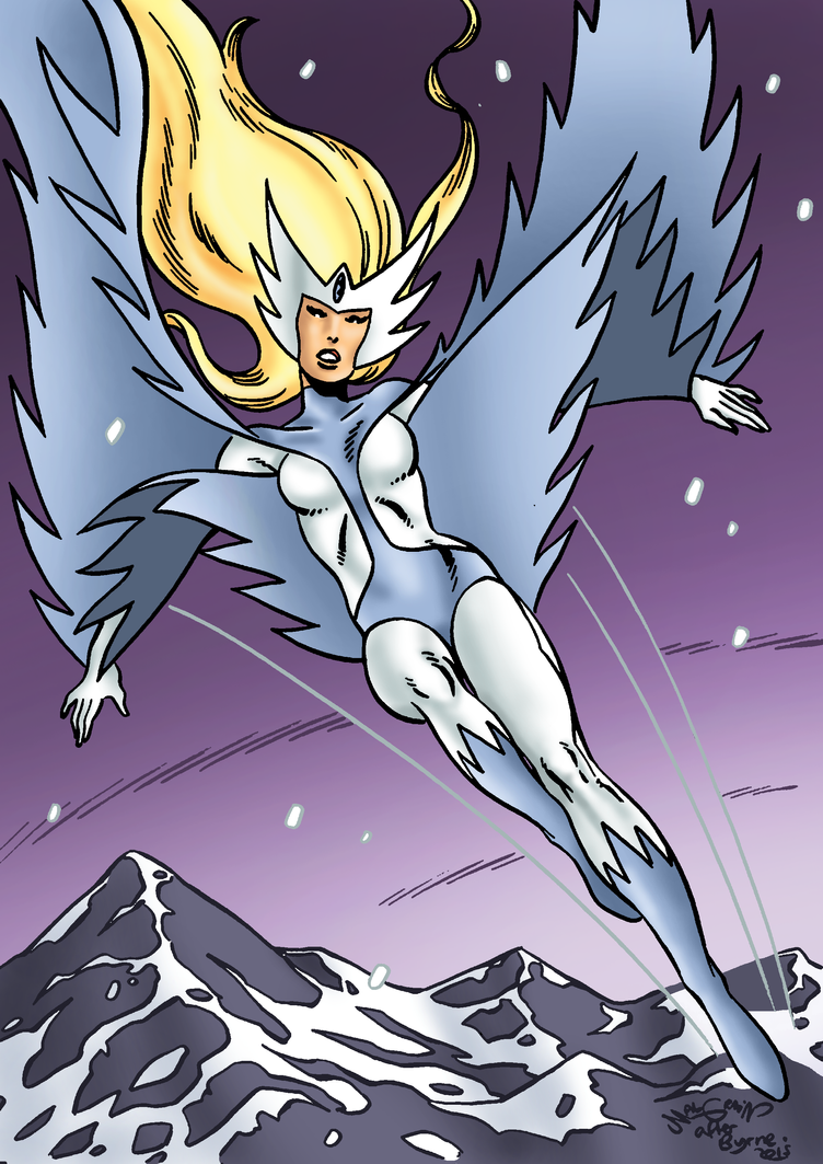Snowbird by sebastianhaze