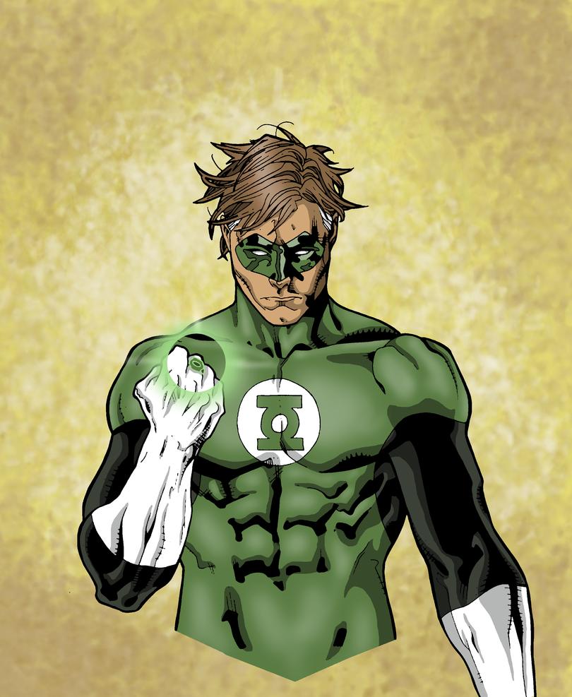 Green Lantern by sebastianhaze