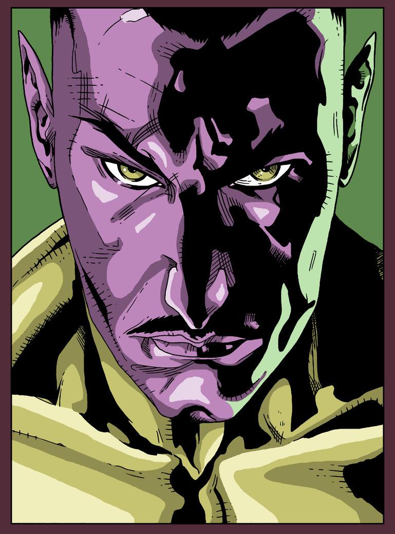 Sinestro by sebastianhaze