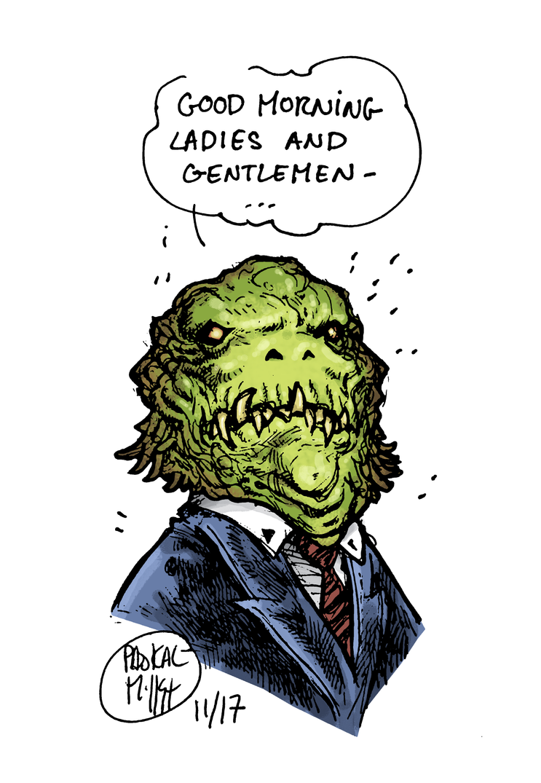 Monster politician by sebastianhaze