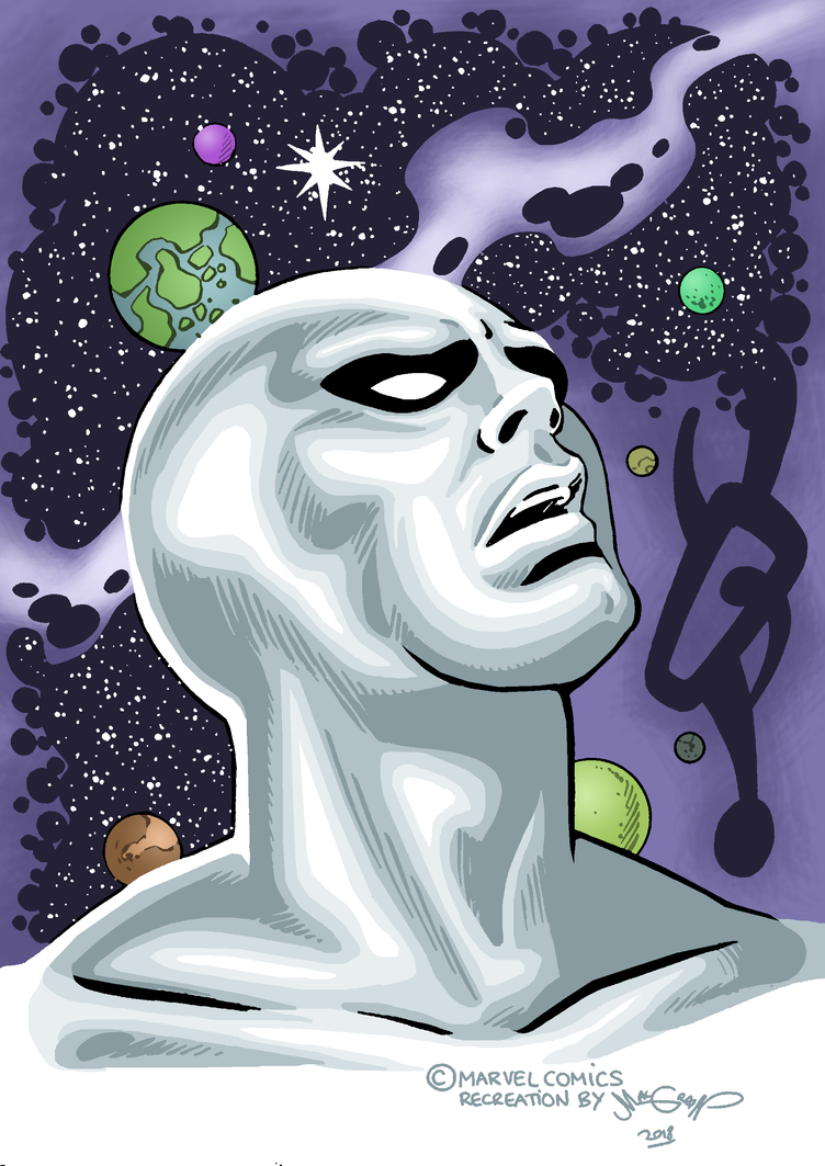 Silver surfer up by sebastianhaze