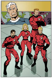 the Valiant Four issue 1