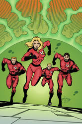 the Valiant Four issue 1 cover