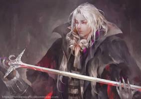 Alucard Castlevania Fanart by tetsu89