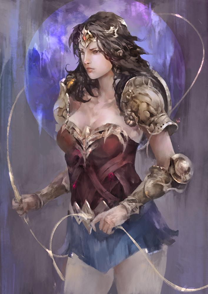 Wonder Woman by tetsu89