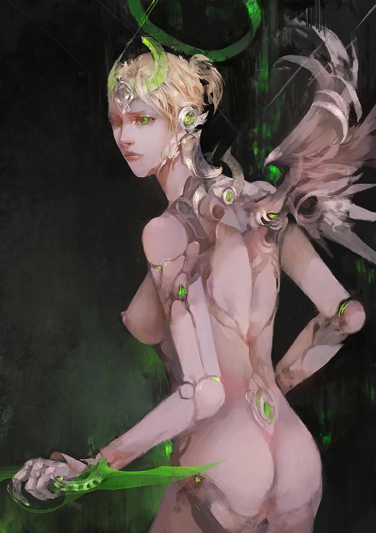 Cybernetic Angel by tetsu89