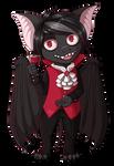 Chibi Bat vampire by KrafiCat