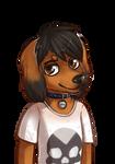 Derpy dachshund Joy by KrafiCat
