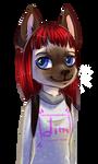 Scetch anthro cat girl   by KrafiCat