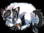 Wolf Apollo sleep by KrafiCat