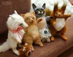 Doll friends by KrafiCat
