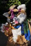 Fursuite lilac-beige fox