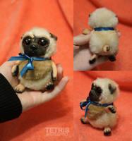 Pug mini doll IN STOCK