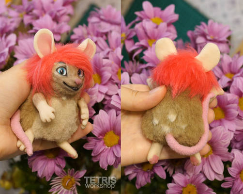 Charm doll mouse