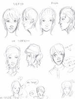 Leviathan Character Sketchies by penut-butter-goddess