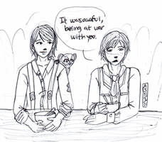 It Was Awful, Being At War With You by penut-butter-goddess