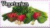 Vegetarian Stamp by Veggi-Club