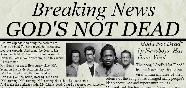 God's Not Dead By Dakotahorse On DeviantArt
