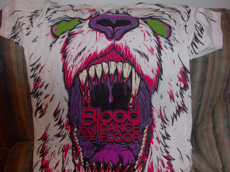 Blood On The Dance Floor T-shirt by A7XFan666