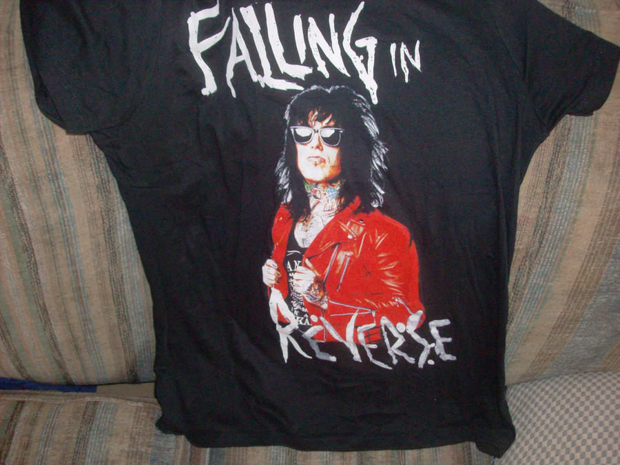 New Falling In Reverse T-shirt by A7XFan666