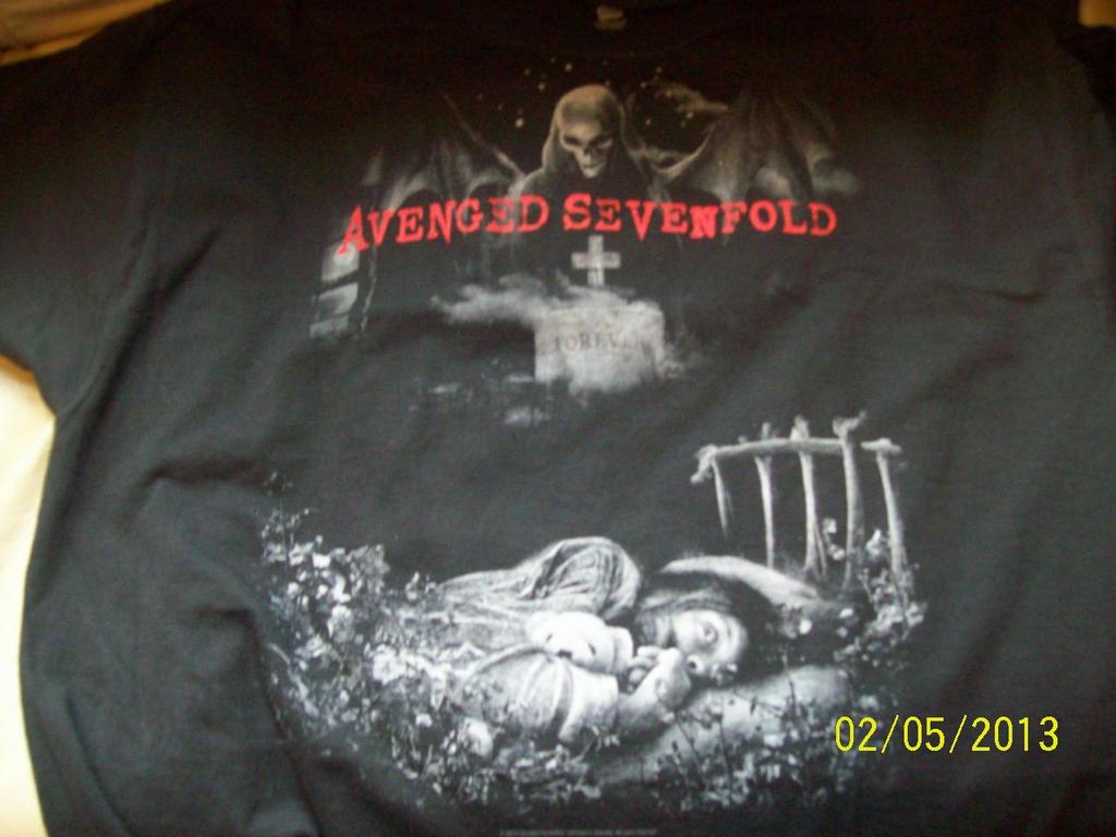 Avenged Sevenfold shirt by A7XFan666