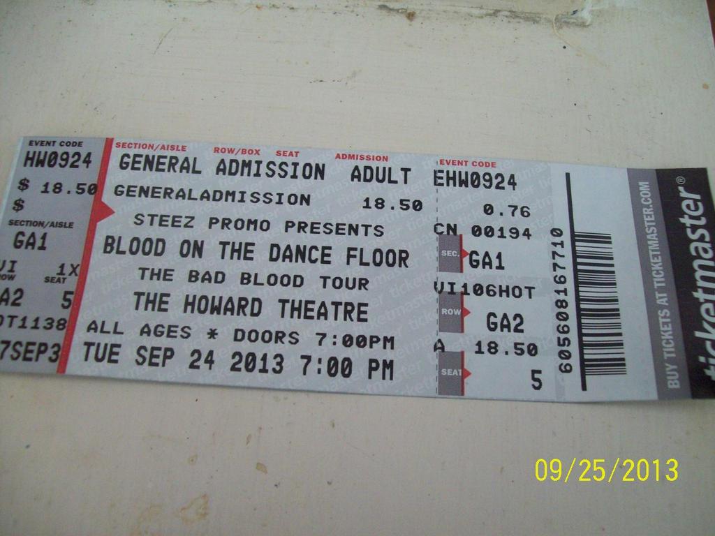blood on the dance floor ticket by a7xfan666 on deviantart With blood on the dance floor tickets