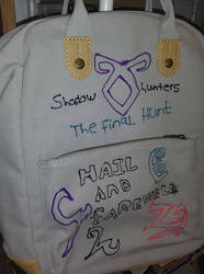 Shadowhunters backpack