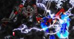 Animated Optimus Prime vs Megatron