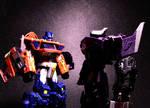 Optimus Prime and Shockwave