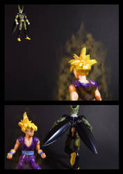 Cell vs Gohan Part 1 - p3 by SUnicron