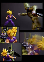 Cell vs Gohan Part 1 - p8 by SUnicron