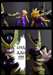 Cell vs Gohan Part 1 - p9 by SUnicron